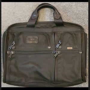 TUMI Alpha Black Organizer Portfolio Briefcase 💼